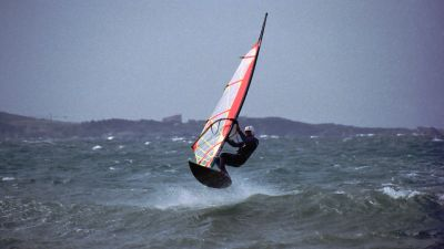 Windsurfen in Sanary sur Mer