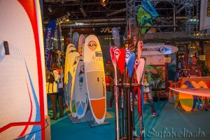 Boot Düsseldorf, Messe 2015, BIC Windsurfen Sup