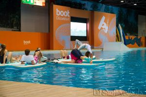 Boot Düsseldorf, Messe 2015, SUP Aktionsbecken