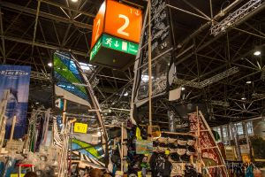 Boot Düsseldorf, Messe 2015, Windsurfen Action Surf Meldorf