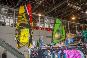 Boot Düsseldorf, Messe 2015, Windsurfen Chiemsee