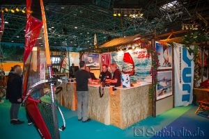 Boot Düsseldorf, Messe 2015, Windsurfen Gun Sails