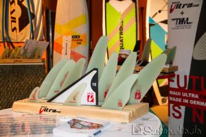 Boot Düsseldorf, Messe 2015, Windsurfen Maui Ultra Fins