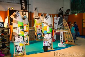 Boot Düsseldorf, Messe 2015, Windsurfen Quatro Boards