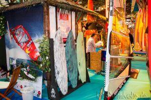 Boot Düsseldorf, Messe 2015,  Windsurfen, SUP, Starboard & Severne
