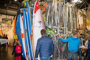 Boot Düsseldorf, Messe 2015, Windsurfen Surfers Paradise