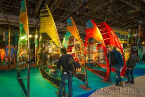 Gun Sails, Boot Düsseldorf, Windsurfen Halle 1+2