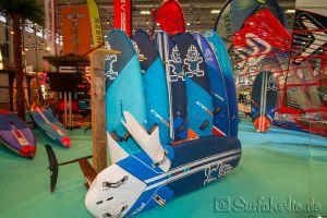 Starboard / Severne, Messe Boot Düsseldorf 2018