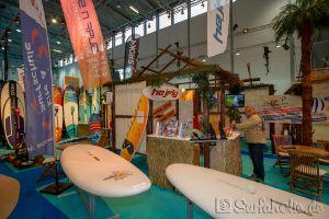 Hejfly / OK surf, Messe Boot Düsseldorf 2018