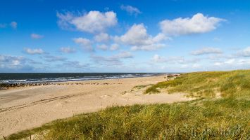 Hvidbjerg Strand, Blåvand, Dänemark
