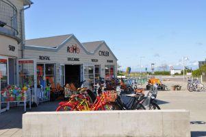 Rømø, Flautenbeschäftigung Fahrradtour