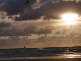 Rømø, windsurf & sundowner