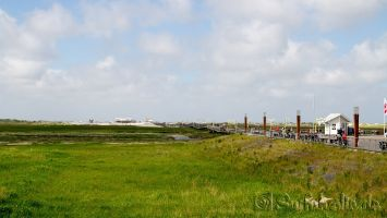 Bad St. Peter Ording, langer Marsch zum kostenpflichtigen Strand