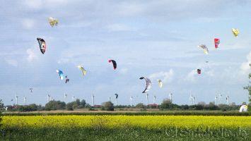 Fehmarn, kitesurfen in Gold