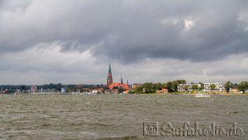 Windsurfen auf der Schlei bei Fahrdorf