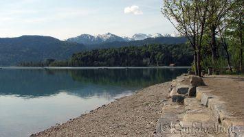 Walchensee bei Flaute
