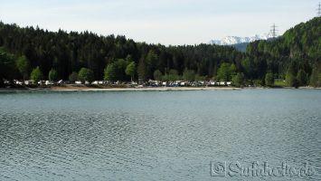 Walchensee, Campingplatz
