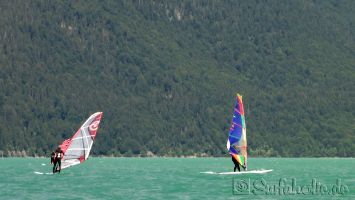 Walchensee, freestyle windsurfen
