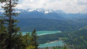Walchensee, Karwendelgebirge