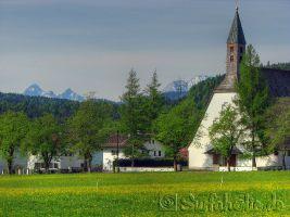 Walchensee,  St. Ulrich Kirche