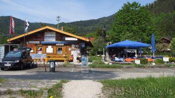 Walchensee, Surfverleih, Minigolf, Kiosk, ....