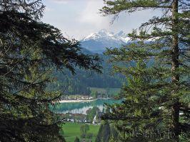 Walchensee und Karwendelgebirge