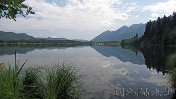 Walchensee, wandern um den Barmsee in Krün