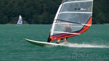 Walchensee, windsurfen