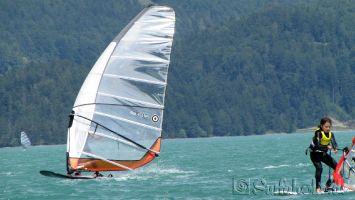 Walchensee, windsurfen für Pro und Anfänger
