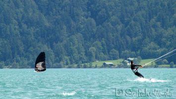 Walchensee, windsurfen, kiten