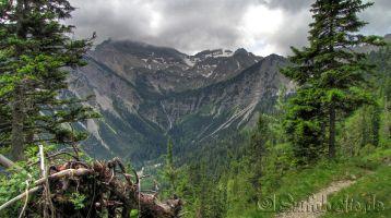 Wandern auf dem Lakaiensteig, Soiernspitze