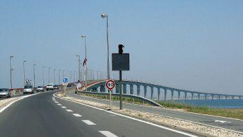 Brücke von la Rochelle zur Île de Ré