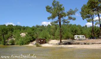 Lacanau, Camping Le Tedey