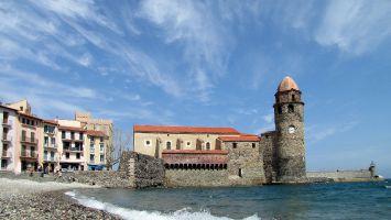 Südfrankreich, Collioure, ehemaliger Leuchturm