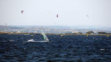 Ile des Pêcheurs. Wind- und Kitesurfer: pas de problem!