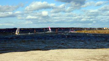 Planche à voile à Ile des Pêcheurs