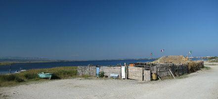 Ile des Pêcheurs. Fischerhütte