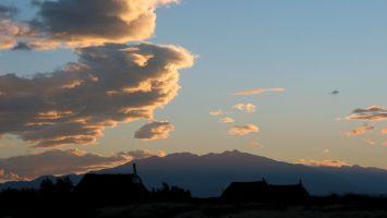 Cabane de pêcheur à l-Ile des Pêcheurs, Pic du Canigou
