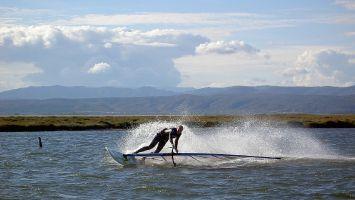 Ile des Pêcheurs, windsurfen
