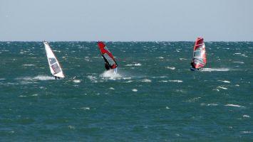La Franqui, Leucate, Kitesurfen, Windsurfen, Strandbuggy, surfen.