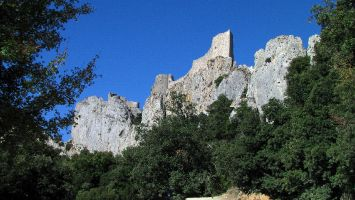 Château de Peyrepertuse, Burg der Katharer
