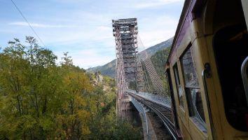 Le petit traine jaune, Pont Gisclard