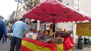 Markt in St. Laurent bei Leucate
