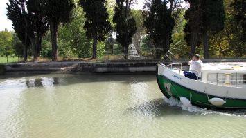 Canal du Midi, Kanalbrücke über den Fluß Orb