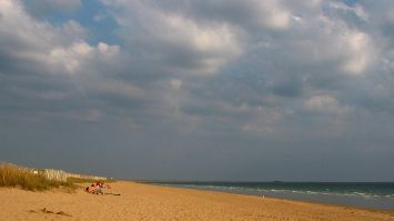 Strand am Atlantik nahe Quiberon