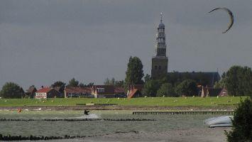 Der schiefe Kirchturm von Hindeloopen
