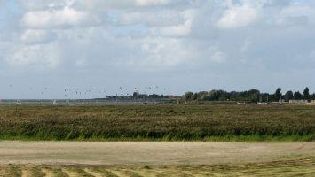 Die Surspots von Hindeloopen vom Vogelschutzgebiet aus gesehen