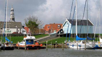 Hafen in  Hindeloopen, Ijsselmeer