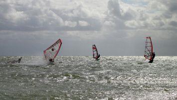 Hindeloopen - windsurfen bei Nordwest 5-6