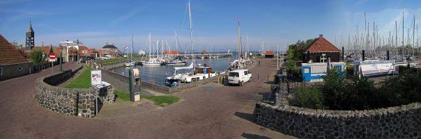 Hindeloopen Hafen Panorama